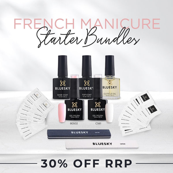 Bluesky French Manicure Mini Starter Pack