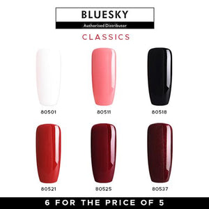 Bluesky Classic Gel Polish Set