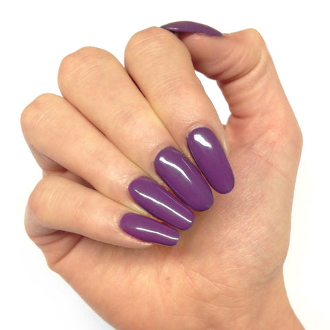 Bluesky Autumn Winter Purple Mauve 63925 UV/LED Soak Off Gel Nail Polish 10ml - Bluesky Nail Gel Polish