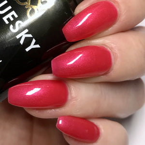 Bluesky 80507 HOT CHILLIS UV/LED Soak Off Gel Nail Polish 10ml Free P&P! - Bluesky Nail Gel Polish