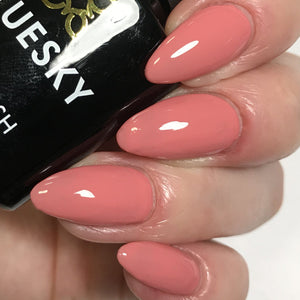 Bluesky 80511 ROSE BUD UV/LED Soak Off Gel Nail Polish 10ml Dusky Rose Pink - Bluesky Nail Gel Polish