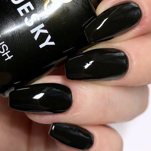 Bluesky A 21 JET BLACK UV/LED Soak Off Gel Nail Polish 10ml Free Postage