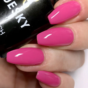Bluesky 80519 HOT POP PINK UV/LED Soak Off Gel Nail Polish 10ml Postage! - Bluesky Nail Gel Polish