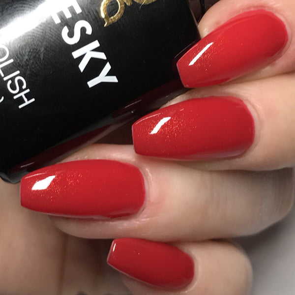 Bluesky 80521 HOLLYWOOD RED CARPET UV/LED Soak Off Gel Nail Polish 10ml! - Bluesky Nail Gel Polish