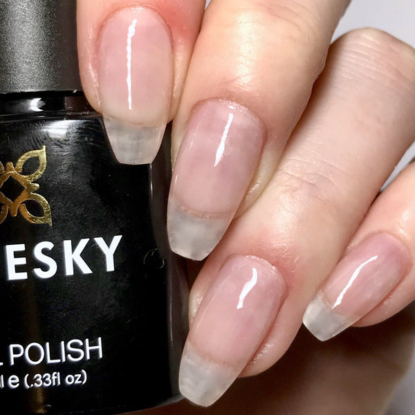 Bluesky 80523 CLEAR PINK UV/LED Soak Off Gel Nail Polish 10ml Free P&P - Bluesky Nail Gel Polish