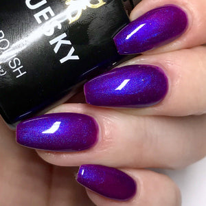 Bluesky 80530 PURPLE PURPLE UV/LED Soak Off Gel Nail Polish 10ml Free P&P! - Bluesky Nail Gel Polish