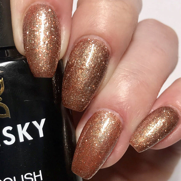Bluesky 80544 TINSEL TOAST UV/LED Soak Off Gel Nail Polish 10ml Free P&P! - Bluesky Nail Gel Polish