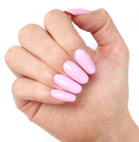 Bluesky 80547 CAKE POP UV/LED Soak Off Gel Nail Polish 10ml - Pastel Baby Pink - Bluesky Nail Gel Polish