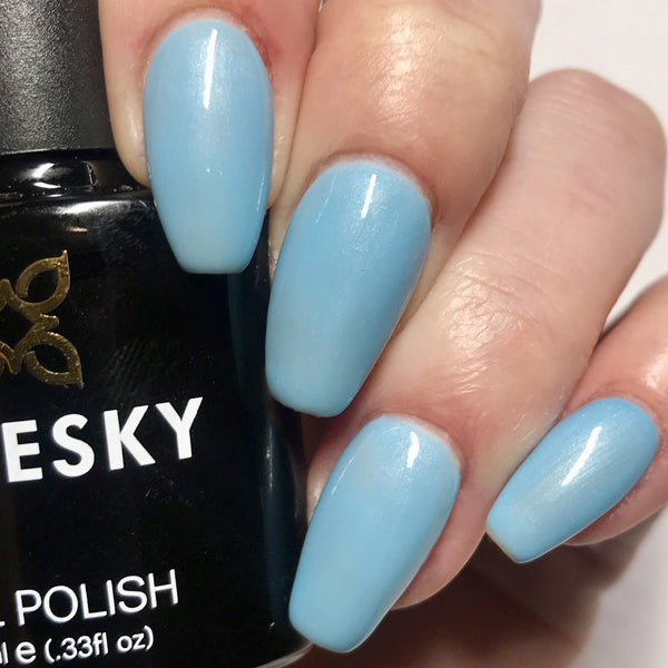 Bluesky 80549 AZURE WISH UV/LED Soak Off Gel Nail Polish 10ml Free P&P! - Bluesky Nail Gel Polish