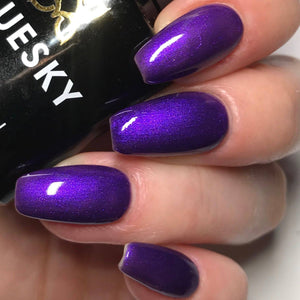 Bluesky 80551 PURPLE GRAPE UV/LED Soak Off Gel Nail Polish 10ml Free P&P! - Bluesky Nail Gel Polish