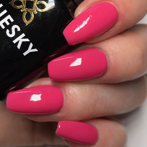 Bluesky 80553 PINK BIKINI UV/LED Soak Off Gel Nail Polish 10ml Free P&P! - Bluesky Nail Gel Polish