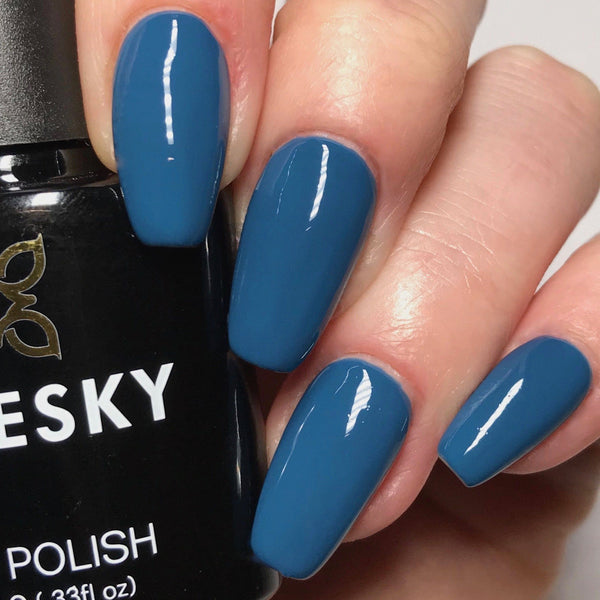 Bluesky 80558 BLUE RAPTURE UV/LED Soak Off Gel Nail Polish 10ml Free P&P! - Bluesky Nail Gel Polish