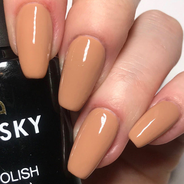 Bluesky 80563 SATIN NIGHTIE UV/LED Soak Off Gel Nail Polish 10ml Free P&P! - Bluesky Nail Gel Polish