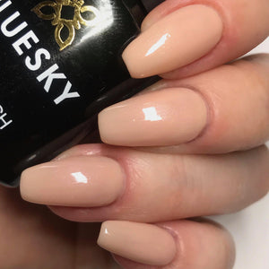 Bluesky 80564 BARE LINGERIE UV/LED Soak Off Gel Nail Polish 10ml Free P&P! - Bluesky Nail Gel Polish