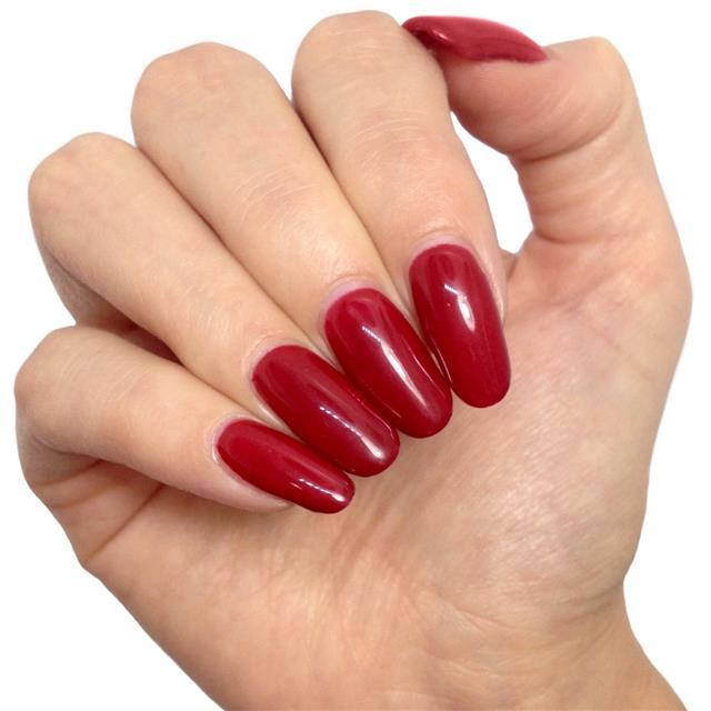 Bluesky 80575 PARADISE DEEP RED UV/LED Soak Off Gel Nail Polish 10ml! - Bluesky Nail Gel Polish