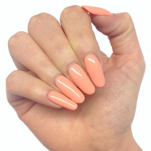 Bluesky 80592 SALMON RUN UV/LED Soak Off Gel Nail Polish - Pastel Peach Coral - Bluesky Nail Gel Polish