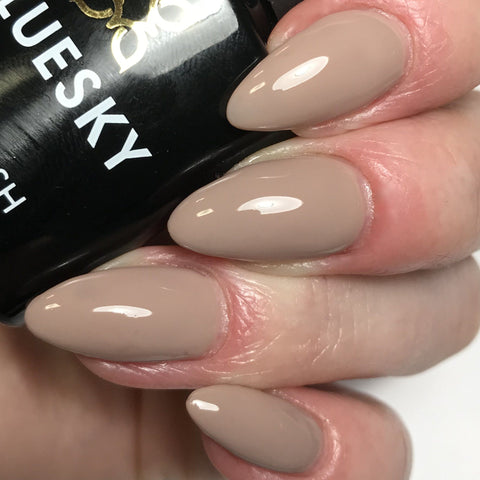 Bluesky Beige Brown Nude Nail Gel Polish - 80594 FIELD FOX - UV/LED Soak 10ml - Bluesky Nail Gel Polish