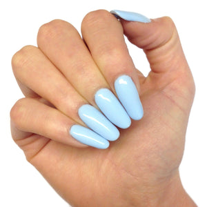 Bluesky 80596 CREEKSIDE UV/LED Soak Off Gel Nail Polish 10ml - Pastel Baby Blue - Bluesky Nail Gel Polish