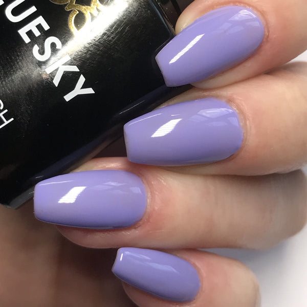 Bluesky 80599 WISTERIA HAZE UV/LED Soak Off Gel Nail Polish 10ml Free P&P - Bluesky Nail Gel Polish