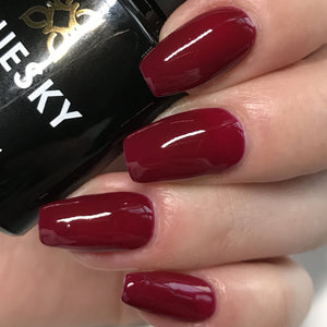 Bluesky 80628 OXBLOOD UV/LED Soak Off Gel Nail Polish Free Postage 10ml - Bluesky Nail Gel Polish