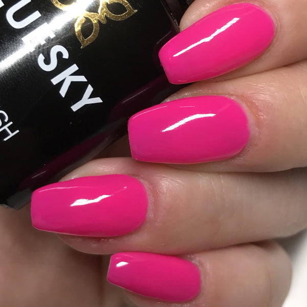 Bluesky A 75 ORCHID UV/LED Soak Off Gel Nail Polish 10ml Free Postage - Bluesky Nail Gel Polish