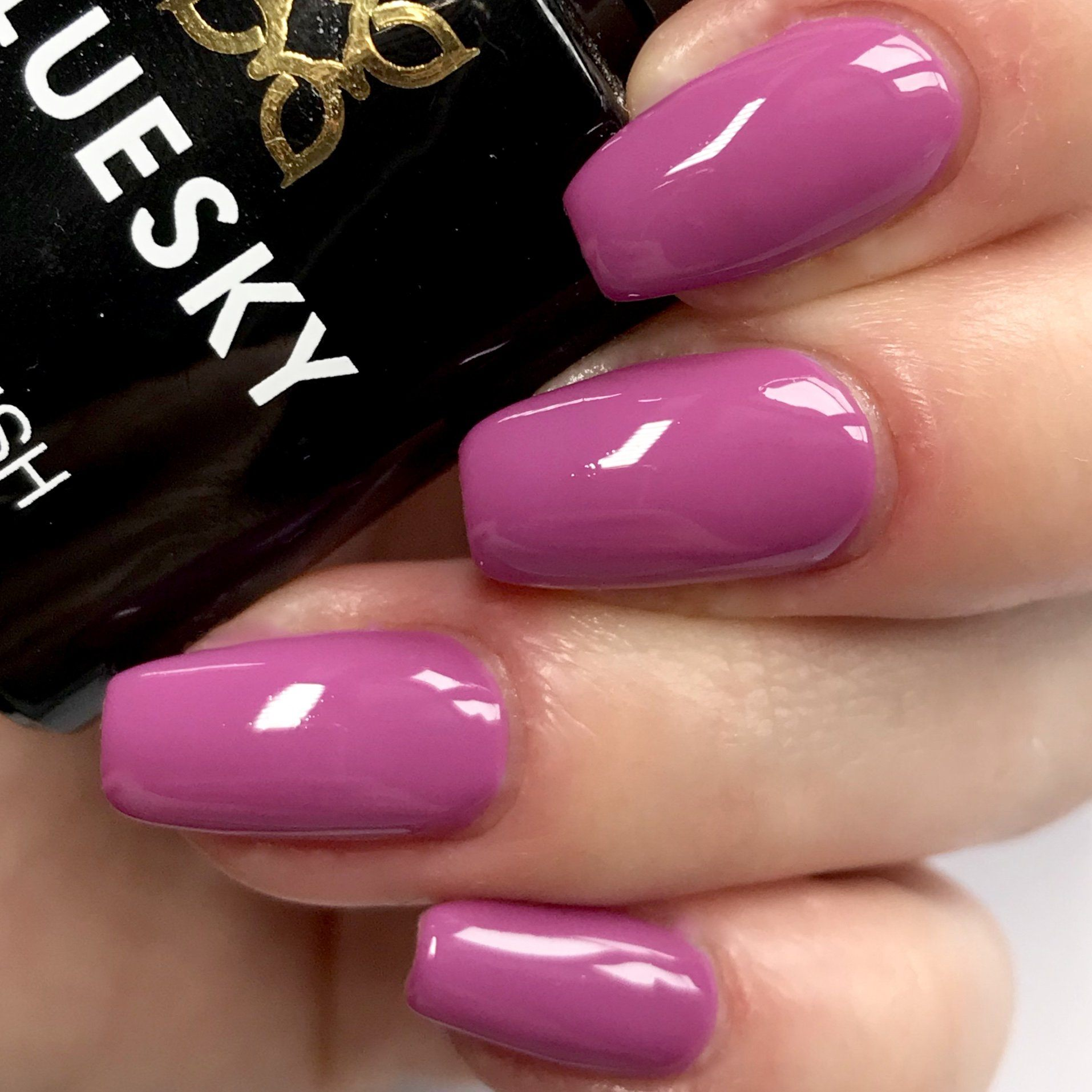 Bluesky A 109 PURPLE PINK UV/LED Soak Off Gel Nail Polish 10ml Free Postage - Bluesky Nail Gel Polish