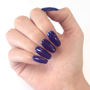 Bluesky A 24 NAVY SEALS UV/LED Soak Off Gel Nail Polish 10ml Free Postage - Bluesky Nail Gel Polish