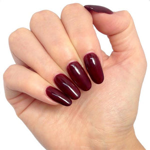 Bluesky A 39 OX BLOOD RED UV/LED Soak Off Gel Nail Polish 10ml - Burgundy Maroon