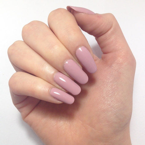 Bluesky Dusky Nude Rose Nail Gel Polish - A44 MUSK PINK - UV/LED Soak Off A 44 - Bluesky Nail Gel Polish