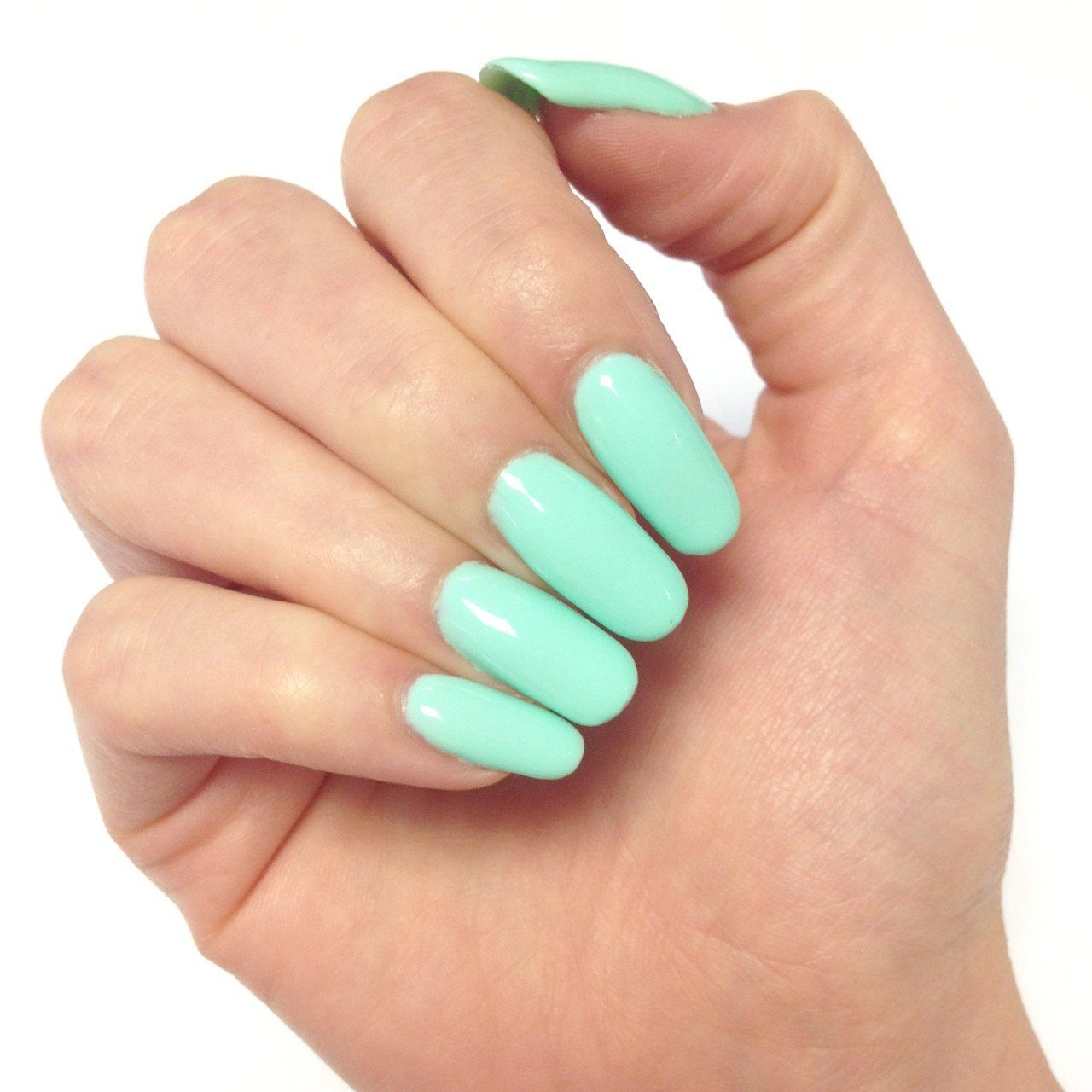 Bluesky A47 MENTAL MINT UV/LED Soak Off Gel Nail Polish - Green Summer Pastel - Bluesky Nail Gel Polish