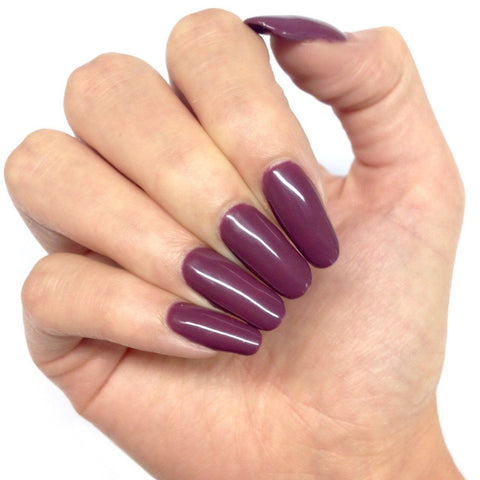 Bluesky AS164 MARVELLOUS MAUVE UV/LED Soak Off Gel Nail Polish 10ml- Dark Purple - Bluesky Nail Gel Polish