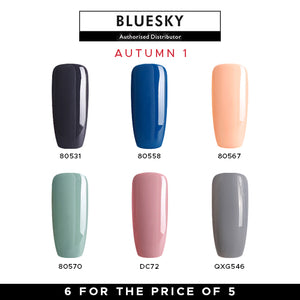 Bluesky Autumn Gel Polish Set #1