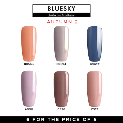 Bluesky Autumn Gel Polish Set #2