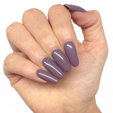 Bluesky MULBERRY BP 07 UV/LED Soak Off Gel Nail Polish - Warm Purple Mauve - Bluesky Nail Gel Polish