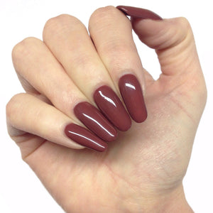 Bluesky CAFFE MOCHA BP10 UV/LED Soak Off Gel Nail Polish Dark Chocolate Brown - Bluesky Nail Gel Polish