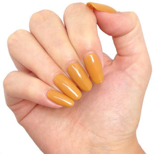 Bluesky BP20 CHAI TEA UV/LED Soak Off Gel Nail Polish Yellow (Mustard) - Bluesky Nail Gel Polish