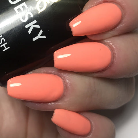Bluesky Special Edition CALIFORNIA CORAL UV/LED Soak Off Gel Nail Polish 10ml