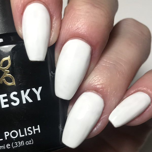 Bluesky Dence Range DC 90 FRENCH WHITE UV LED Soak Off Gel Nail Polish 10ml - Bluesky Nail Gel Polish