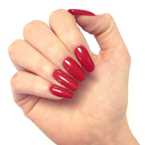 Bluesky PILLAR BOX RED D160 UV/LED Soak Off Gel Nail Polish - Valentine Red - Bluesky Nail Gel Polish
