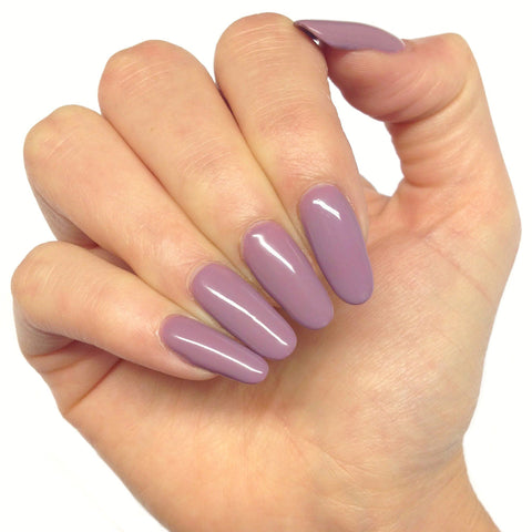 Bluesky MOVE OVER MAUVE D 76 UV/LED Soak Off Gel Nail Polish - Lilac Purple - Bluesky Nail Gel Polish