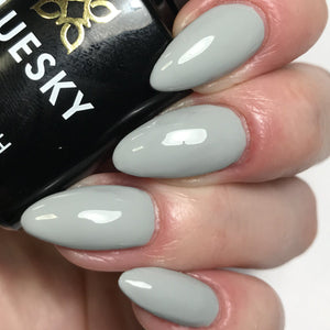 Bluesky Dence Range DC 75 QUIET GREY UV/LED Soak Off Gel Nail Polish 10ml! - Bluesky Nail Gel Polish