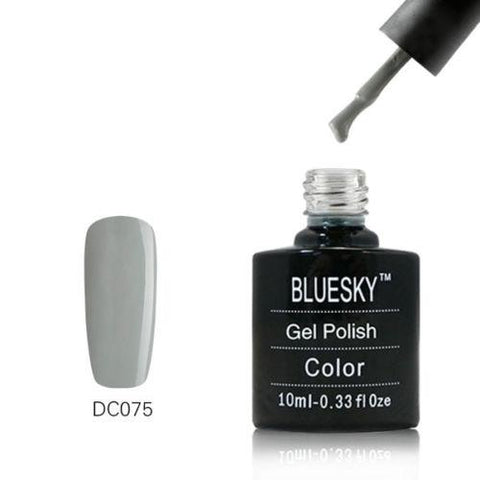 Bluesky Dence Range DC 75 QUIET GREY UV/LED Soak Off Gel Nail Polish 10ml!