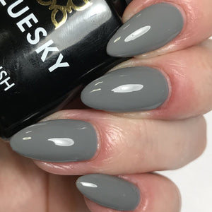 Bluesky DC85 MR GREY UV/LED Soak Off Gel Nail Polish 10ml - Dark Slate Grey - Bluesky Nail Gel Polish