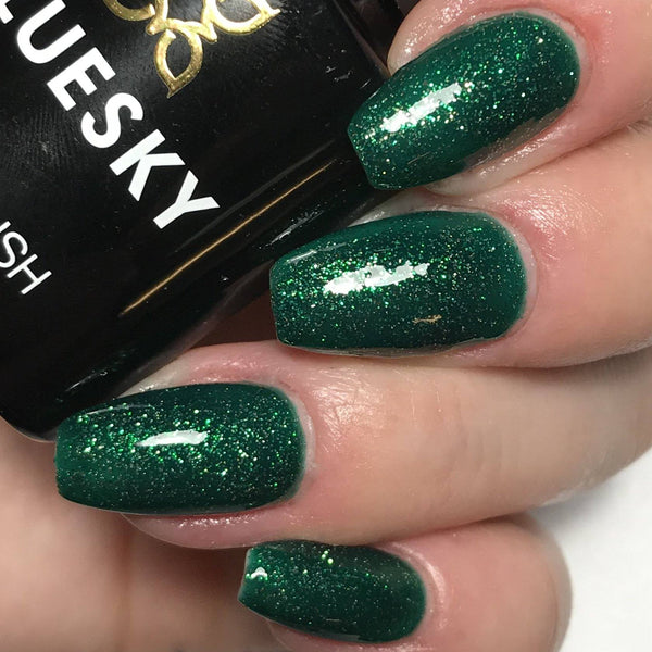 Bluesky Special Edition CHRISTMAS ELF UV/LED Soak Off Gel Nail Polish!