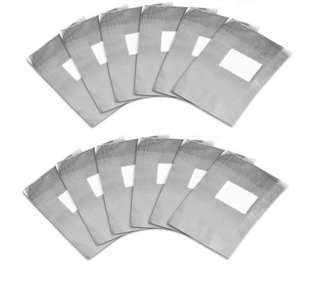 Foil Cotton Pad Remover Wraps (20 Pack)