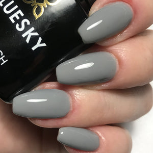 Bluesky QXG Range Medium Grey QXG 546 UV/LED Soak Off Gel Nail Polish - Bluesky Nail Gel Polish