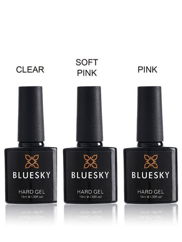 Bluesky HARD GEL Builder Top Coat UV LED Soak Off Nail Polish LIQUID 10ml - Bluesky Nail Gel Polish
