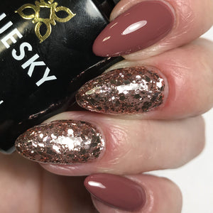 Bluesky Combo KS4049 ROSE MIST & MARSALA UV/LED Soak Off Gel Nail Polish - Bluesky Nail Gel Polish
