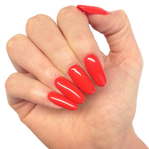 Bluesky KISS ME RED UV/LED Soak Off Gel Nail Polish 10ml Bright Summer Red - Bluesky Nail Gel Polish