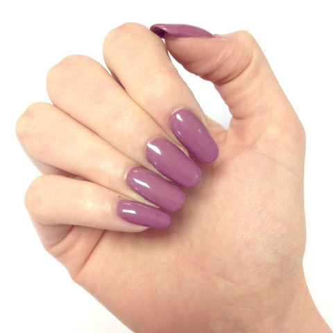 Bluesky Nail Gel Polish Dark Purple - MAD ABOUT MAUVE - UV/LED Soak Off 10ml - Bluesky Nail Gel Polish